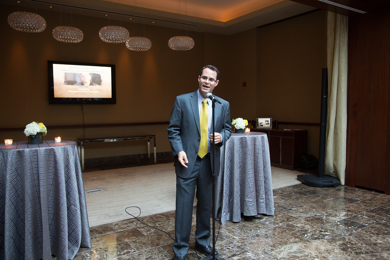 On the microphone, Alex Goldfeld, NEHS President - 2012-06-25 at 18-46-14
