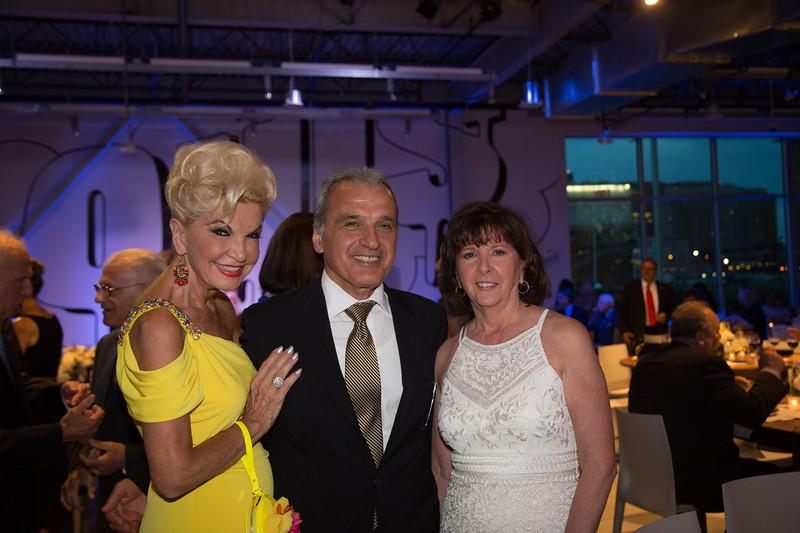 Yolanda Cellucci, Luigi Munno, Deputy Consul General in Boston of Italy and Pam Donnaruma at italianissimo