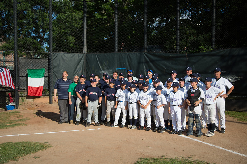 North End Athletic Association (blue) and the Verona, Italy team (white) - 2012-06-28 at 18-02-28
