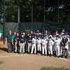 North End Athletic Association (blue) and the Verona, Italy team (white)