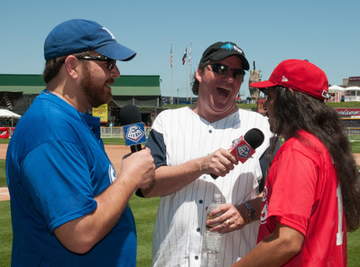 The 4th Annual Reckless Kelly Celebrity Softball Jam 2012 at Dell Diamond
