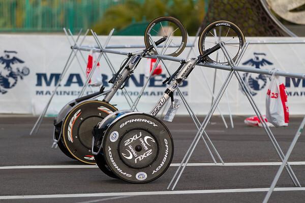 Challenged bikes