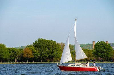 Sailboat on the Potomac