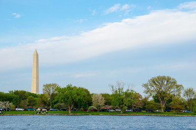 Washington Monument from the Potomac