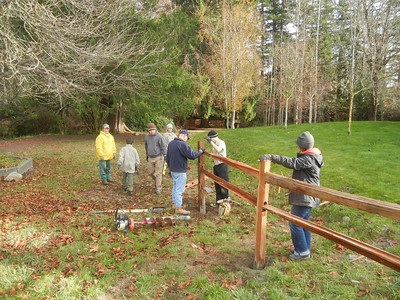 Austin Peterson Eagle Project - Day 1 - Dec 8