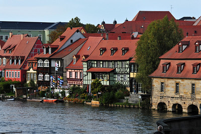 Late afternoon visit to Bamberg