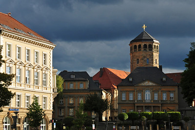 Late afternoon visit to Bayreuth after climbing