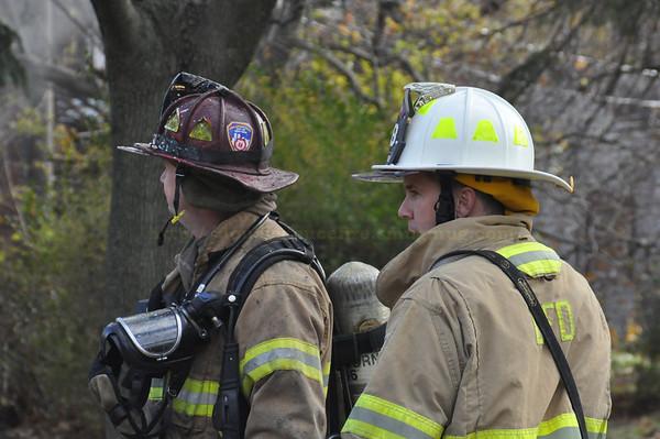 Dearborn - House fire - Esper between Oakman and Appoline
