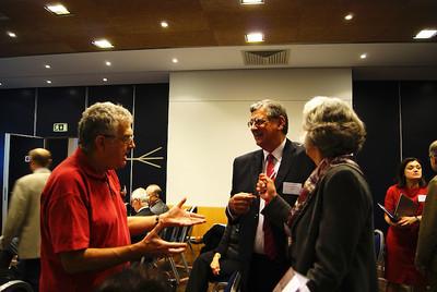 Dr Aldo Mattucci, Dr Alex Sceberras Trigona, Prof. Biljana Scott