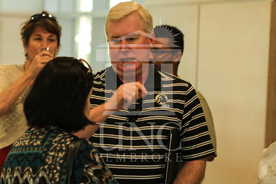 Chancellor's Reception at the Allied Health Building UNC Pembroke on Tuesday, August 14th 2012. IMG_7030.JPG