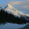 On the way to Crowfoot glacier