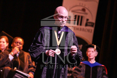 Keynote speaker Dr. Joseph Lakatos  speaks at the UNCP spring Graduate commencement on Friday, May 4th, 2012..  spring_grad_0331.jpg
