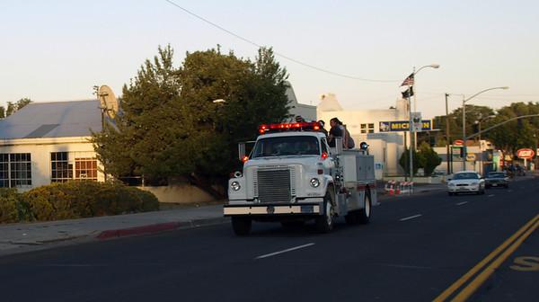 Susanville Fire Department Fire Truck Rides 2012