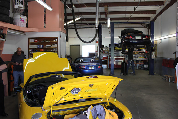 Tech Day at Coyote Motors