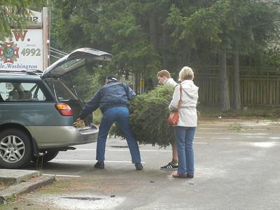 Tree Sales - Day 3 - Shift 2 - Dec 8