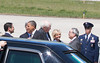 20120424 President Barack Obama, RDU Airport, enroute to UNC-Chapel Hill talk (8081, 1150a) (c2012 Dilip Barman)