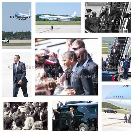 000aFavorite 20120424 President Barack Obama, RDU Airport, enroute to UNC-Chapel Hill talk (7988-8147, 11 36-57a) (c2012 Dilip Barman)