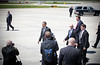 20120424 President Barack Obama, RDU Airport, enroute to UNC-Chapel Hill talk (8102, 1152a) (c2012 Dilip Barman)