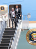 00aFavorite 20120424 President Barack Obama, RDU Airport, enroute to UNC-Chapel Hill talk (8068, 1149a) (c2012 Dilip Barman)