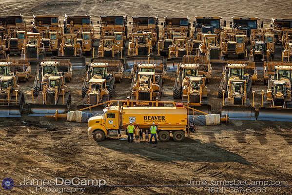 "Group photo of the Beaver Excavating Company equipment and crews at the Columbus Upground Reservoir #2 site photographed Monday July 30, 2012. (© James D. DeCamp | <a href=""http://www.JamesDeCamp.com"">http://www.JamesDeCamp.com</a> 