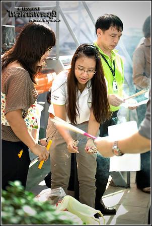 20120912 - ไหว้ศาลพระภูมิ