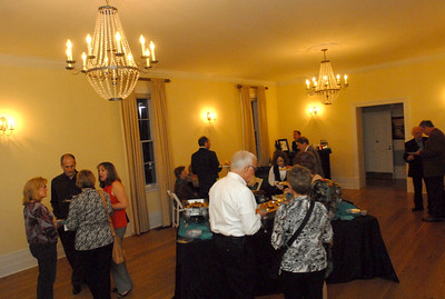 """Elmhurst residents as well as Historical Mueseum and Heritage Foundation members attend the """"Meet Me At The Fair"""" wine and beer tasting held at Wilder Mansion through the Elmhurst Heritage Foundation Thursday October 25, 2012.  Staff photo by Erica Benson"""