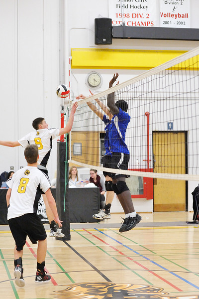 Sr Boys Volleyball Fr Lacombe Lasers vs Queen Elizabeth Knights
