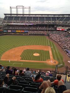 Coors Field in Denver CO