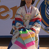 A member of the Ari Rang – Korean Classical Dance Ensemble.
