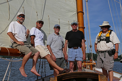 Elf Board Meeting sail, Sassafras River, 2013-06-22