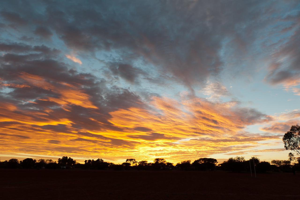 Sunrise at the Settlement