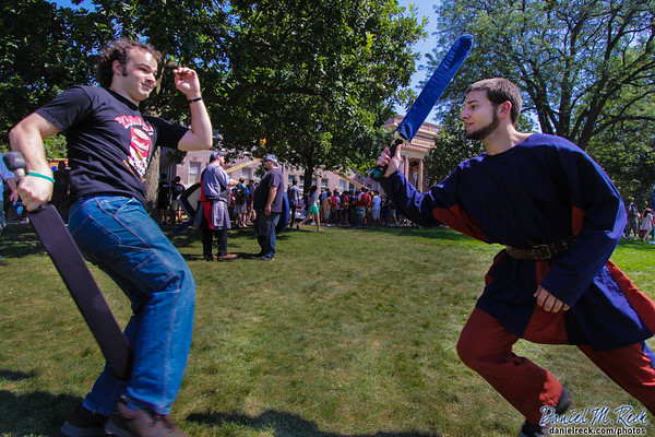 Going Medieval at Quad Day