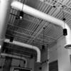 high ceiling of local starbucks.