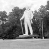 Sam Houston statue.