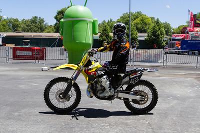 Freestyle Motocross. Alameda County Fair 2013 - Pleasanton, CA, USA