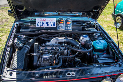 FRANKENBUILT VW MKII GTI TDI at Pacific Water Land 2013