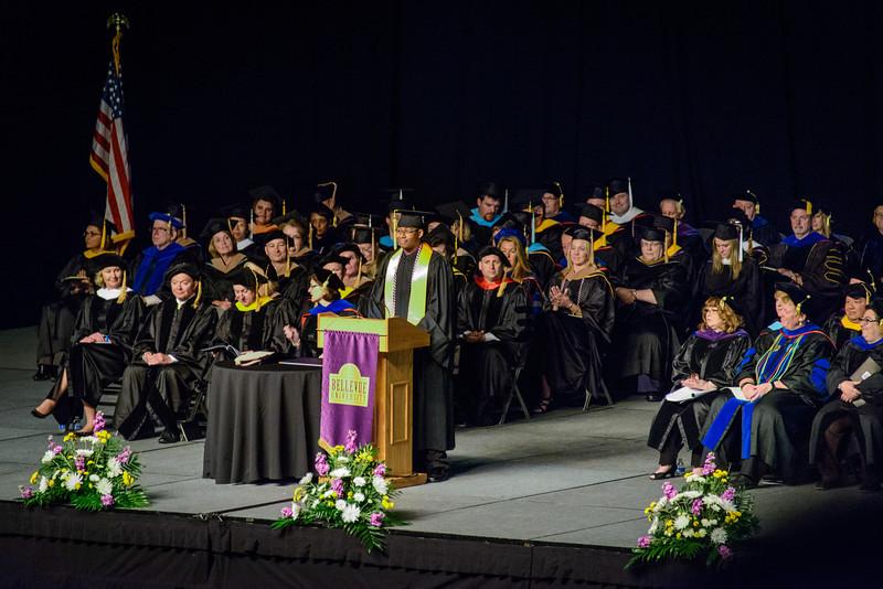 Student Speaker - Brian A. Santa Cruz