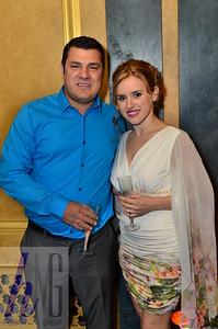Errin Haxhiala and Emanuela Aliaj