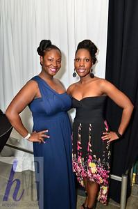 Lashonda Butler and Makia Rushton