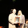 Cheryl Jumonville receives an Excellence in Programming Award on behalf of Vista Pacifica Center, Jurupa Valley.