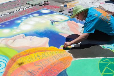 Denver Chalk Art Fest June 2013