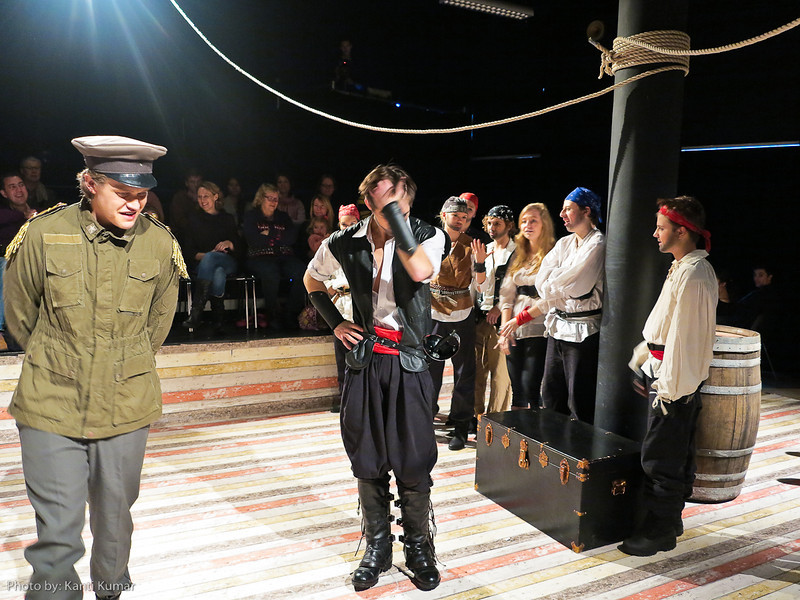 Pirates of Penzance: theatre at CIS