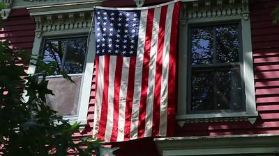 FN Otis' flag. 412 G Street SE, WDC
