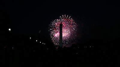 Fireworks on the Mall. WDC