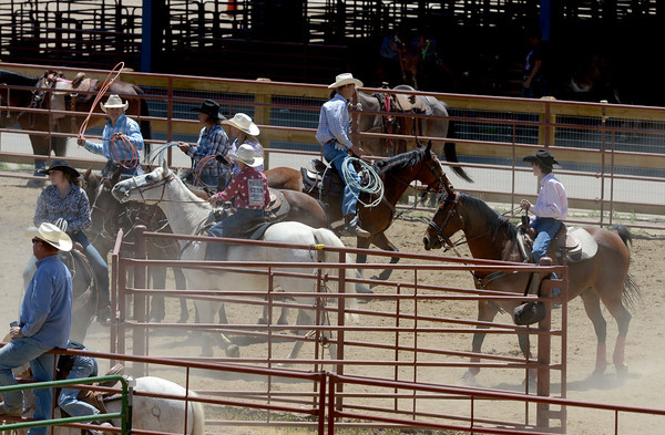 2013 Little Britches Rodeo in Longmont