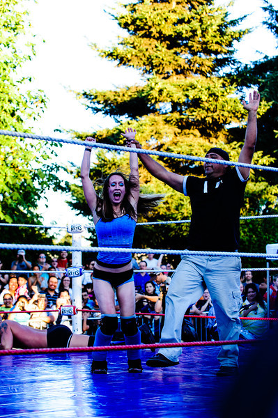 Luche Libre in the Park