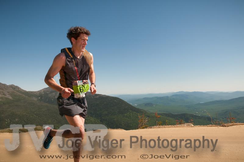 Matt Byrne at mile 5
