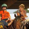 Two generations of horsewomen, very sweet ladies.