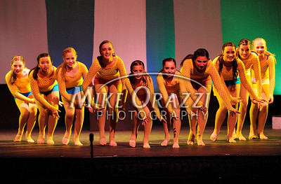 4/20/2013 Mike Orazzi | Staff Mellow Yellow by The Dance Experience at the 72nd Annual OM Show held at St. Paul Catholic High School on Saturday afternoon.