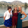 Kelsey, Erika and Melanie at Lake Chelan for Brittney's Wedding - September 2013